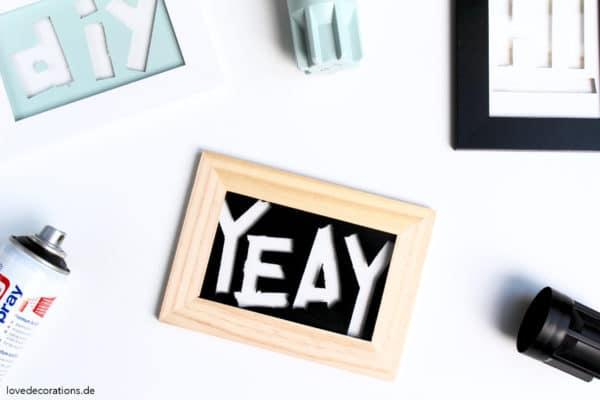 DIY Typo Bild