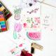 DIY: Etegami - Watercoloring auf japanisch