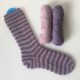 Grinsekatze-Socken