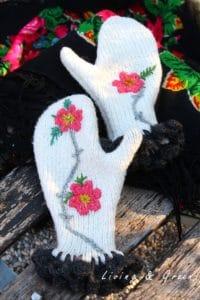 Pullover Upcycling Babuschka Handschuhe DIY