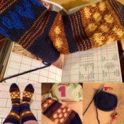 #addisockenwundercontest - Socken im Jacquard-Look