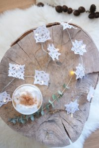 Schneeflocken-Lichterkette