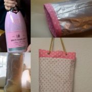 Tutorial Upcycling Champagnerbag mit Kühlpads