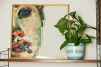 Meine Kunstdemenz und die Anleitung für das Puzzlebild und den Bilderrahmen