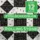 """6Köpfe-12Blöcke Quilt-Along 2017 """"Rolling Stone"""""""