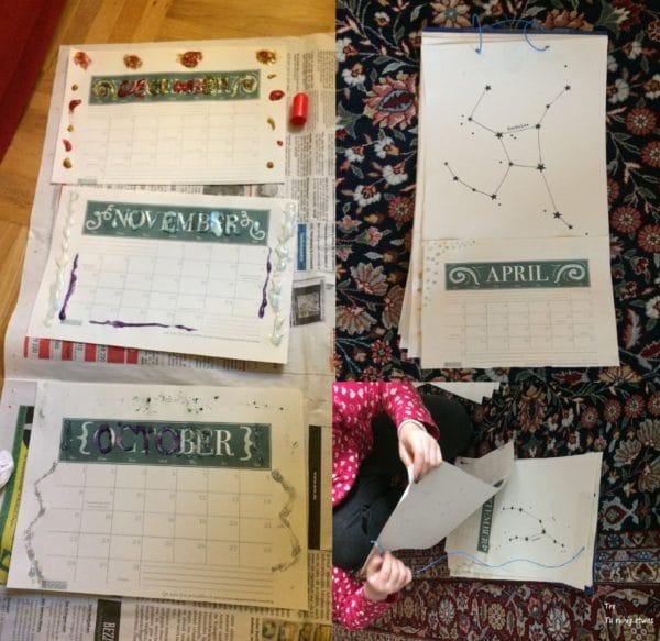 Neues Jahr neuer Kalender