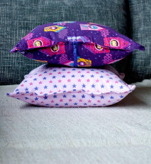 kissenh lle aus einem st ck handmade kultur. Black Bedroom Furniture Sets. Home Design Ideas