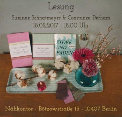 Lesung mit Susanne Schnatmeyer & Constanze Derham