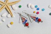 Wie kann man kunstvolle Ohrringe selber machen?