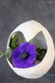 Schwebende Vasen aus Papier