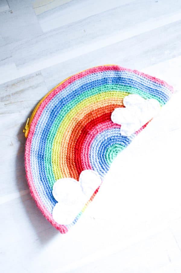 Regenbogen Clutch