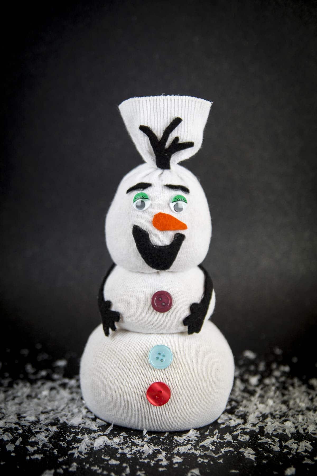 Socken-Schneemann Mr. Frosty - HANDMADE Kultur