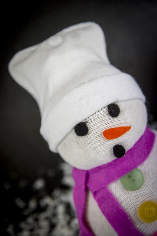 Mr. Snow die alte Socke