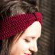 Stirnband mit Perlmuster stricken