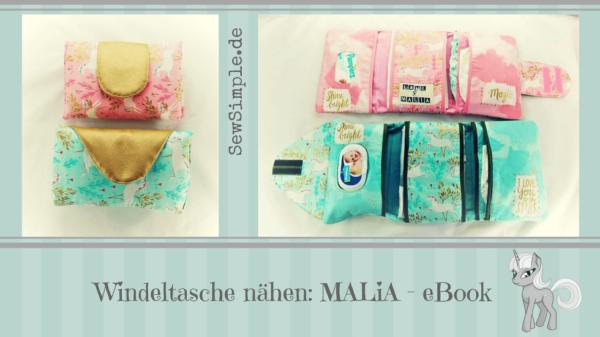 Windeltasche nähen | MALiA | E-Book