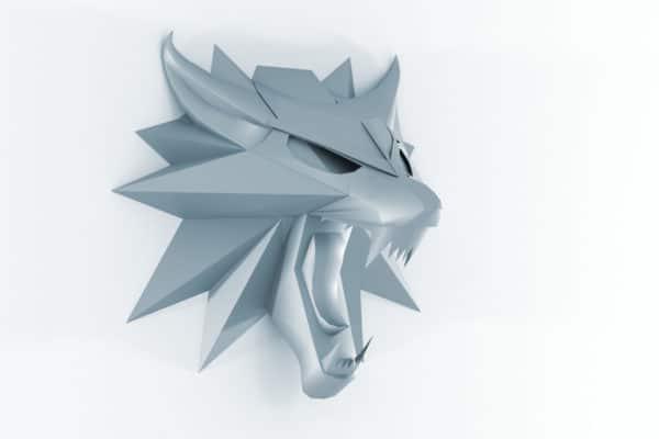 Wolf Wandtrophäe - Teil 1