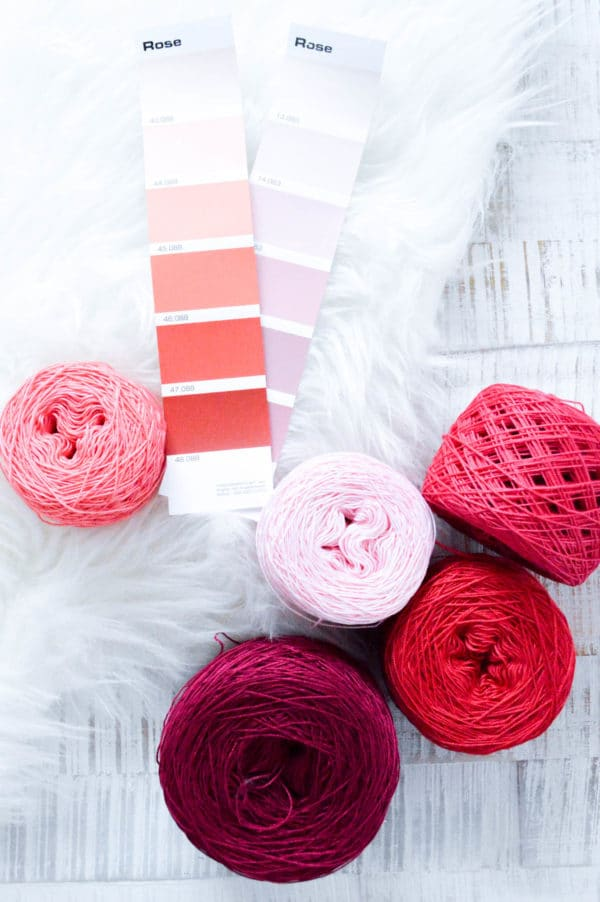 Wolle selbst färben