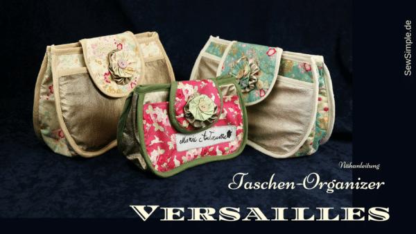 Nähvideo: Taschen-Organizer nähen | Versailles