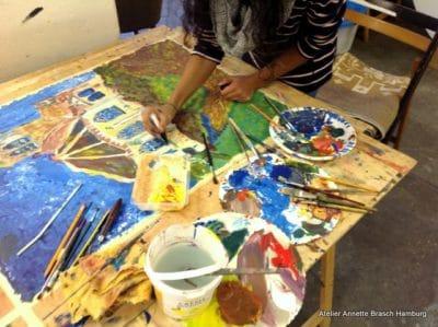 Kinder und Jugendliche Malerei-Zeichnen, Einzelförderung