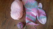 handmade Socken mit addi-sockenwunder