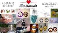 2. Herzlmarkt München - Kreativmarkt mit handgemachten Unikaten