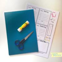 Bullet Journal zum ausdrucken für die Organisation im Alltag