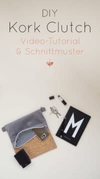 DIY Video: Kork Clutch nähen | Can't Clutch this! | Mohntage