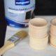 Kleines DIY mit großer AMORE! Serviettenringe zum Selbstbeschriften mit Tafellack und Kreide