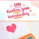 DIY APPLE-KARTE ZUM VALENTINSTAG BASTELN *FREE PRINTABLE*