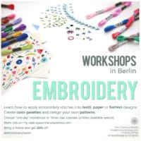 Embroidery Workshops