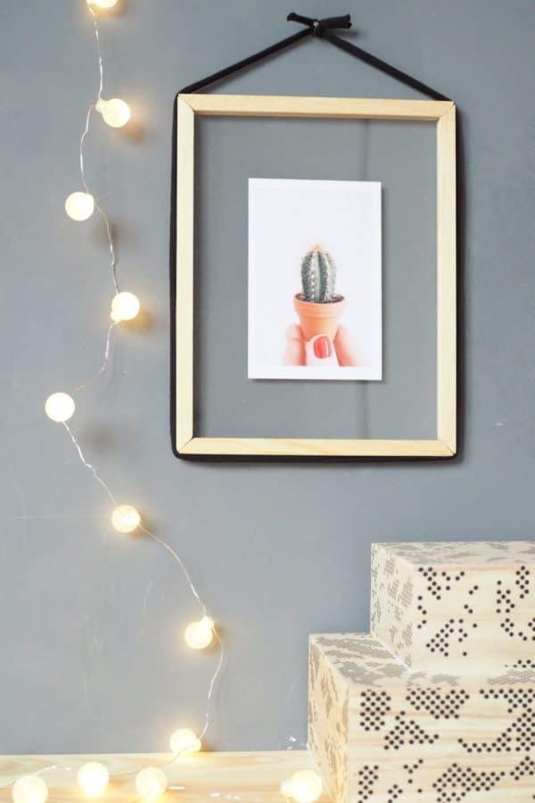 diy transparenter bilderrahmen zum bef llen handmade kultur. Black Bedroom Furniture Sets. Home Design Ideas