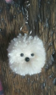 Schlüsselanhänger Pompon Pet