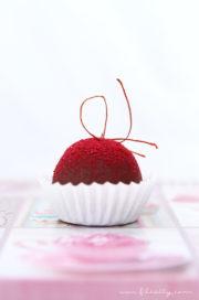 Himbeer-Pralinen zum Valentinstag