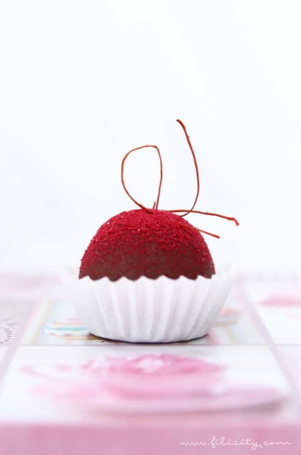 Himbeer Pralinen Zum Valentinstag Handmade Kultur
