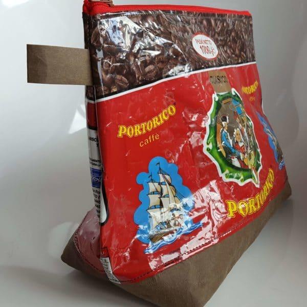 Kulturtasche aus Kaffeetüten