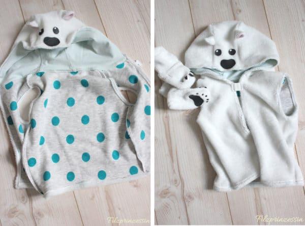 Kinderkostüm Eisbär