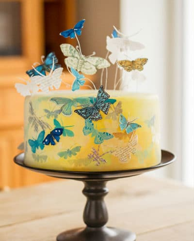 "Spezial-Workshop: ""Essbare Schmetterlinge & Fondant-Malerei"" am 22.07.2017"