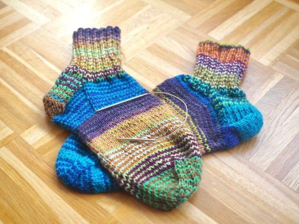 Restesocken mit dem Sockenwunder