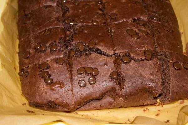 Einfache, richtig leckere vegane Brownies
