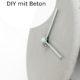 how to: Tipps für DIY Projekte mit Beton