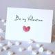 Freebie: Fingerprint Herz zum Valentinstag