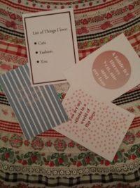 DIY Postkarten zum Valentinstag - Freebie #DoItValentinstag