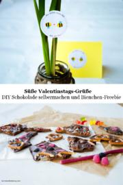Süßer Gruß zum Valentinstag - oder jeden anderen Tag - mit FreeBee