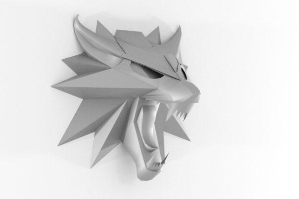 Wolf Wandtrophäe - Teil 4