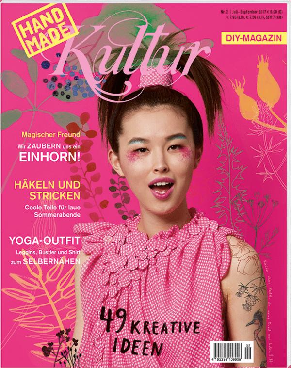 Nähmagazin Bastelzeitschrift Und Ideenquelle Magazin Handmade Kultur