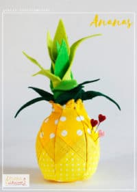 Nadelkissen Ananas