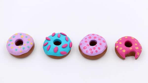 DIY Anleitung – Schmuck aus Fimo Donuts selber machen