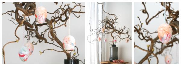 Ostereier marmorieren – einfach, schnell und dekorativ!