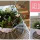 Frühlingsfrische Tischdeko a lá Kreativitäterin