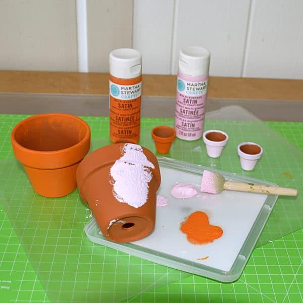 Blumentopf Wichtel Handmade Kultur